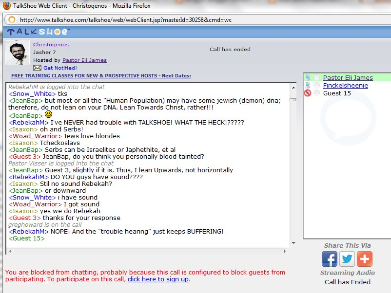 Unprotected chatroom harlots scene three